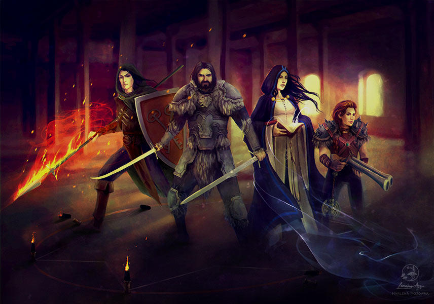 Commission: WHRP Group by LenamoArt