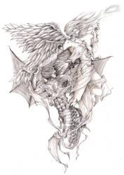 Failing Angels by kiedan