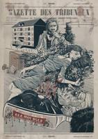 Murders int he Rue Mourge by kiedan