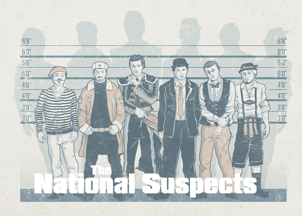 The National Suspects by kiedan