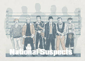 The National Suspects by kiedan
