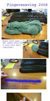 Fingerweaving Tutorial by fadedoak-craft