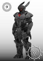 Evolved Incursio destiny titan  Armor by Hellmaster6492