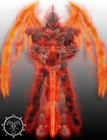 Grimlock Warlock Armor (subclass Dawnblade) by Hellmaster6492