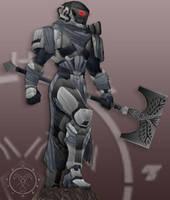 Req Titan armor by Hellmaster6492