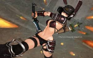 Samurai Rabot Girl by lokmanlam