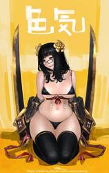 20140215 swordGirl by lokmanlam