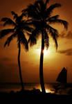Belize sunset by PangDang
