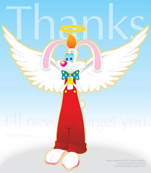Thanks, my angel -Dressed- by bunnyfriend