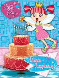 Gaby The Little Fairy - Magical Birthday by bunnyfriend