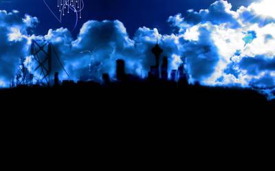 City kaupunki -blue by daewoniii