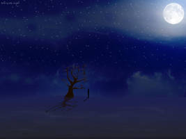 talvi-winter-night by daewoniii
