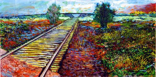Railroad Tracks by eborch