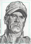 Stargate SG1 Jack O'Neill Sketch Card by JonDjulvezan
