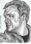 Stargate Atlantis Sketch Card Dr Rodney McKay by JonDjulvezan