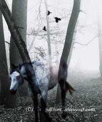 Helhesten - Horse From Hell by WargusEstor