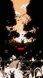 Moon rabbit by chicho21net