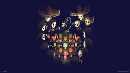 Dia de Muertos by chicho21net