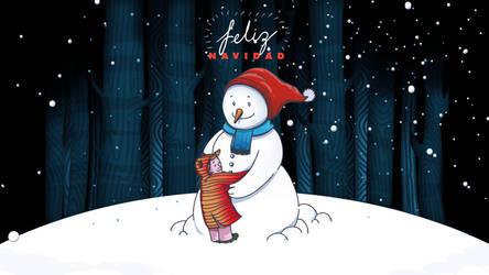 Feliz Navidad Wallpaper by chicho21net