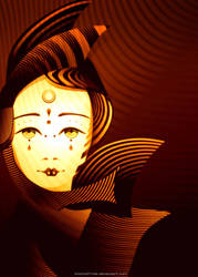 The Moon Mask by chicho21net