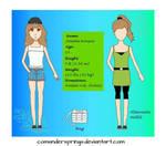 [Ref] Juliette Ronson (WIP bio in description) by ComanderSprings