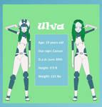 Ulva's Ref + WIP bio in description by ComanderSprings