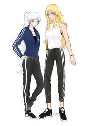 Sporty Couple by Freedom-chou