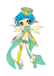The Blue Sylph Colored by Maiko-Girl