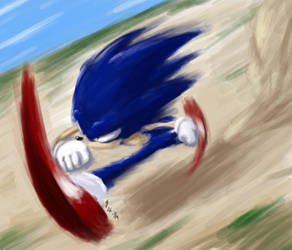 blue blur by gts
