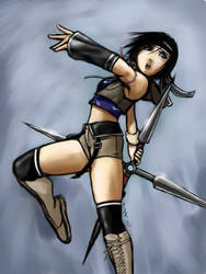 Yuffie AC style by gts