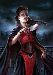 Vampire by LuisaPreissler