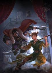 The Dark Eye Cover (Schloss Strobanoff) by LuisaPreissler