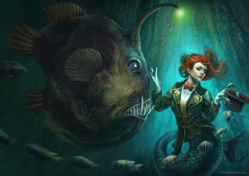 Sea Circus (Art Order challenge) by LuisaPreissler
