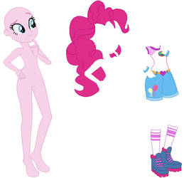 EG Camping Pinkie Pie Base by PainterEde