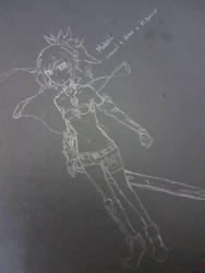 Badly drawn Mordred by ClockworkHeartz