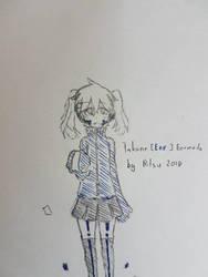 Takane (ene)  fanart by ClockworkHeartz