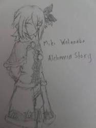 Alchemia Story Original Character: Miki Watanabe by ClockworkHeartz