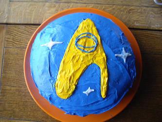 Star Trek Cake by holls