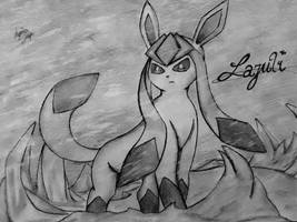 Lazuli, the Glaceon by Xyvier