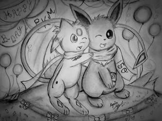 Brotherly Hug by Xyvier