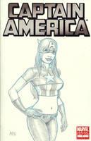 Captain America VAMPY Sketch Cover by Nortedesigns