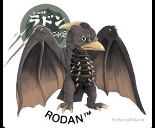 Rodan1964 by KomaOokami