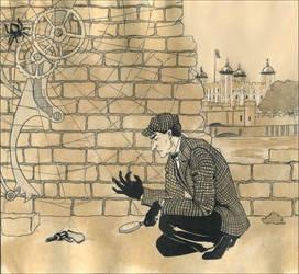 Sherlock Holmes by Umino-aka-Morskaya