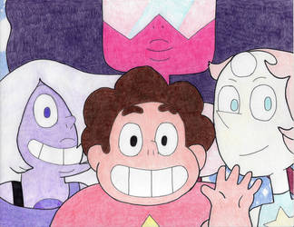 Steven Universe 5th Anniversary Art (Final) by Crash5020