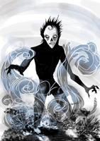 Mr. Mourn - Art Trade by riku-gurl