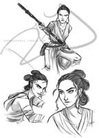 Rey 1202016 - Star Wars by riku-gurl