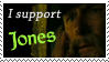 Support Jones - Stamp by JayneLions