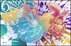 Alice in Wonderland by the-crazy-spork