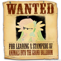 Equestria's Most Wanted: Fluttershy by snakeman1992