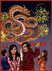 Happy 2012 Dragon Year by Mangaka-Aspiration